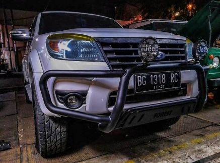 Ford Everest BUMPER DEPAN NUDGE BAR WILD FOREST FORD EVEREST TAS4X4 1 bumper_depan_nudge_bar_wild_forest_ford_everest_tas4x4_2