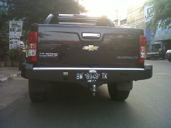 Chevrolet Colorado BUMPER BELAKANG MODEL PAPAN CHEVROLET COLORADO chevrolete colorado model papan baru 2