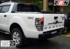 Ford Ranger 2011+ GARNISH CHROME FORD RANGER T6 garnishchromefordrangert6tas4x4 7
