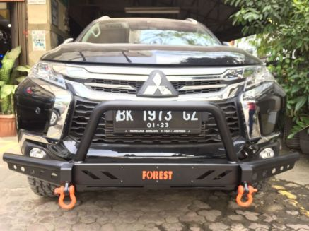 Pajero Sport All New BUMPER DEPAN FOREST ROCKY BAR PAJERO SPORT ALL NEW 6 img_20180903_wa0033