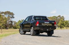 Hillux Revo 2015+ REAR PROTECTION TOW BAR TO SUIT HILUX REVO 2015 new hilux rear 1 w1920