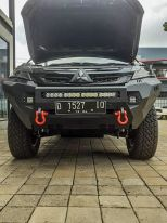 Pajero Sport All New PALANG DEPAN WILD FOREST MITSUBISHI PAJERO SPORT ALL NEW TAS4X4 palang depan wild forest mitsubishi pajero sport all new tas4x4 3