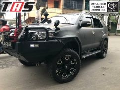 Fortuner 2015+ TANGGA SAMPING FULL SIDE RAIL FORTUNER TAS 4X4 tangga samping fortuner 1