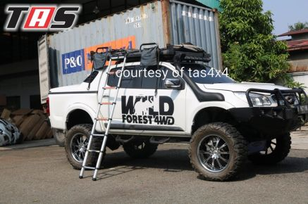 Aksesoris Offroad ROOFTENT OPEN IN ONE SIDE MANUALLY TAS4X4 4 tent_4