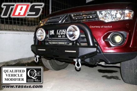 Pajero Sport All New BUMPER WILD FOREST U BAR PAJERO SPORT TAS4X4<br> 1 wild_1